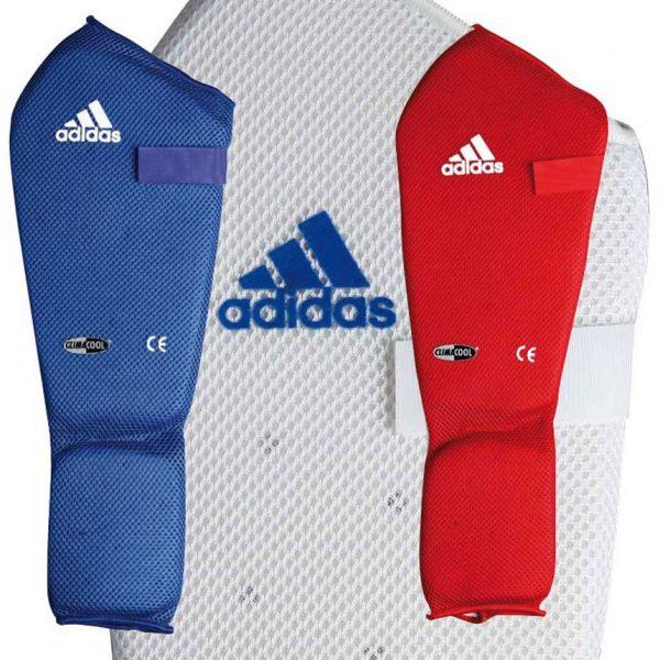 Adidas Scheenwreefbeschermer Microlight Wit maat XXS