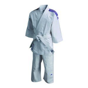 Judopak Adidas voor kinderen | meegroeipak J200 | 90-100