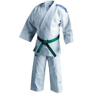 Judopak Adidas voor tieners en recreanten | J500 | wit 200