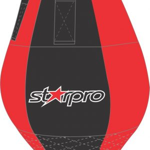 Double end boksbal (82 x 33 cm) Starpro | zwart-rood