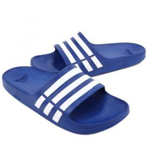 Adidas Duramo slippers | blauw | maat 4.0