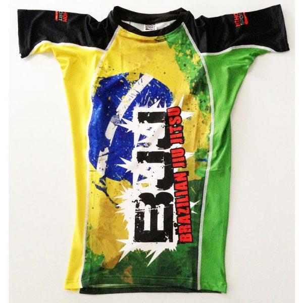 Nihon Rashguard Brazil maat XXL