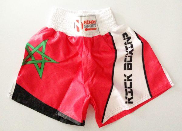 Nihon Kickboxing Shorts Marokko maat XXL