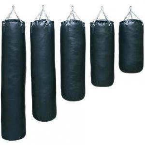 Lege bokszak (ongevuld) Nihon | zwart