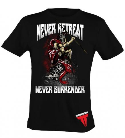 Throwdown Shirt Never Retreat maat XXL
