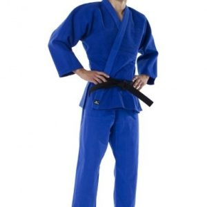Mizuno Shiai GI blauw maat 7