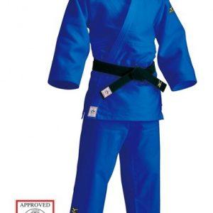 Mizuno Yusho IJF judopak blauw maat 7
