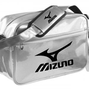 Mizuno Shunzui tas met zilver/zwart logo maat M