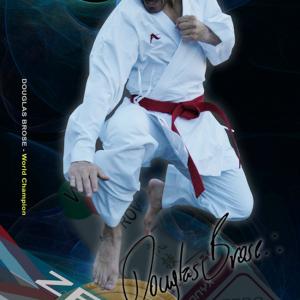Kumite-karatepak Onyx Zero Gravity (wit) Arawaza | maat 150