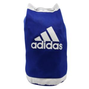 Adidas judotas / duffeltas van judopakken-stof | blauw-wit