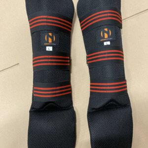 Scheen/wreefbeschermers hydraflow Nihon | zwart